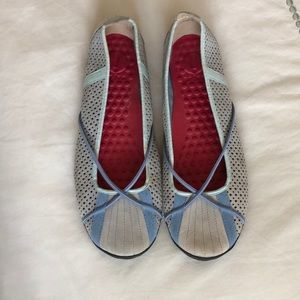 Grey Privo penny shoes size 8
